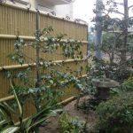 竹垣の似合う素敵なお庭 外構工事