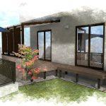 家と外を繋ぐプライベート空間