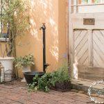 おしゃれな立水栓をお庭にプラス