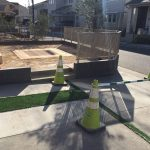 駐車スペース拡張&くつろぎのお庭