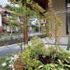 芝と植栽で造るシンプル外構