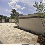 コンクリート製品で石畳を表現