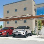 多彩な住宅スタイルにマッチするスタイリッシュカーポート