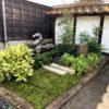 純和風プチお庭工事