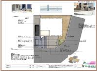 新築外構の詳細設計図