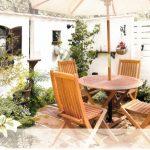 ディーズキャノピーでオシャレな中庭空間作り