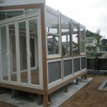 ガーデンルーム工事 快適 な 空間 LIXIL ココマⅡ