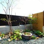 外構工事 和とナチュラル な2件同時進行お庭工事 完成しました!!