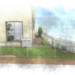 雑草対策を兼ねたアプローチでお庭のイメージを一新