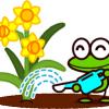夏のお庭のメンテナンス