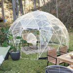 丸見えドーム型テント  ~お庭で過ごす~