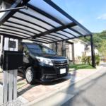 デザイン性と機能性に優れたカーポート