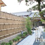 腐らない竹垣で和風のお庭を演出♪