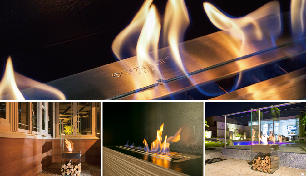 バイオエタノール暖炉 シンフォニックガーデン画像